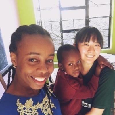 タンザニアでチャイルドケア&地域奉仕活動 山西咲和